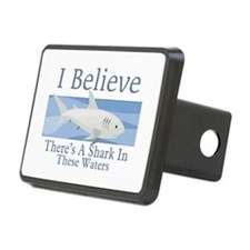 Shark In These Waters Hitch Cover