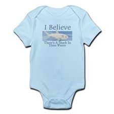 Shark In These Waters Infant Bodysuit