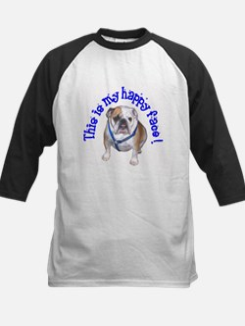 English Bulldog Happy Face Tee