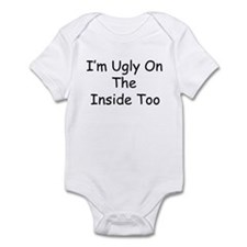 Ugly On The Inside Too Onesie