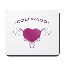 Colorado State (Heart) Gifts Mousepad