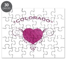 Colorado State (Heart) Gifts Puzzle
