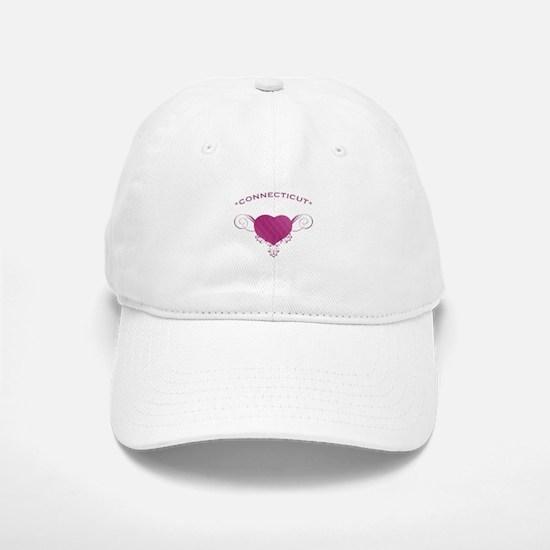 Connecticut State (Heart) Gifts Baseball Baseball Cap