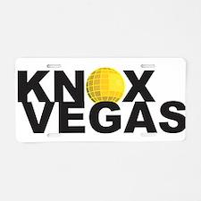 Knoxvegas v2.png Aluminum License Plate