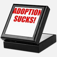 ADOPTION SUCKS! Keepsake Box