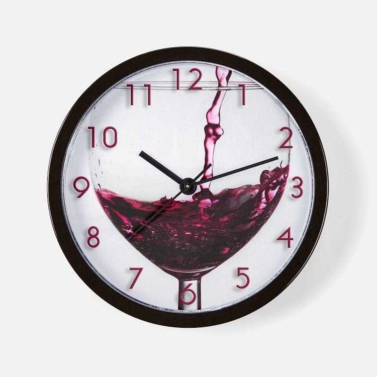 wine clocks wine wall clocks large modern kitchen clocks