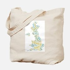 Pride and Prejudice Map Tote Bag