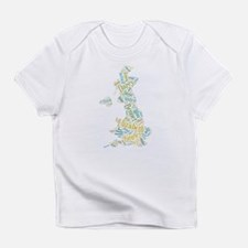 Pride and Prejudice Map Infant T-Shirt
