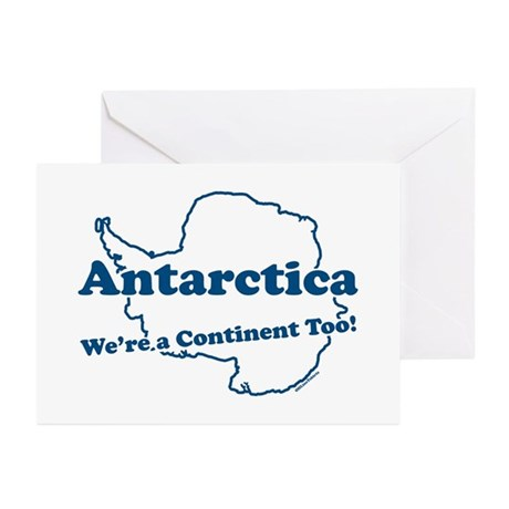 Antarctica v2 Greeting Cards (Pk of 10)