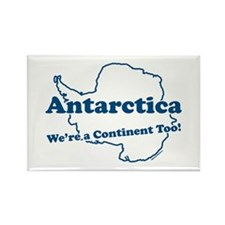 Antarctica v2 Rectangle Magnet