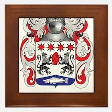 Hone Coat of Arms (Family Crest) Framed Tile