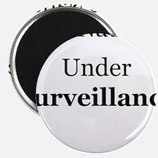 "One Nation Under Surveillance 2.25"" Magnet (100 pa"