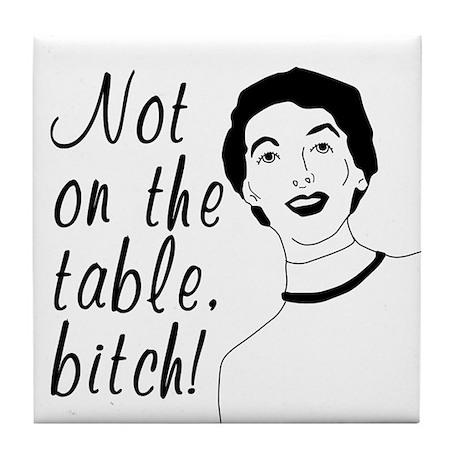 Funny Retro Woman Coaster