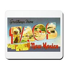 Taos New Mexico Greetings Mousepad