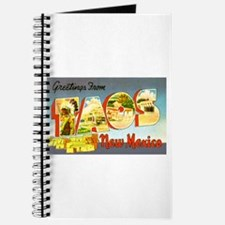 Taos New Mexico Greetings Journal