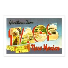 Taos New Mexico Greetings Postcards (Package of 8)