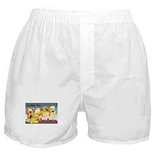 Taos New Mexico Greetings Boxer Shorts