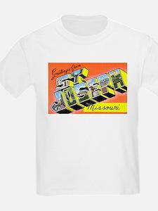 St. Joseph Missouri Greetings (Front) Kids T-Shirt