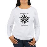 Reflexology Foot Circle Women's Long Sleeve T-Shir