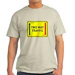 Two Way Traffic 3 Light T-Shirt