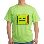 Two Way Traffic 3 Green T-Shirt