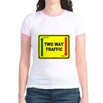 Two Way Traffic 3 Jr. Ringer T-Shirt