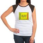 Two Way Traffic 3 Women's Cap Sleeve T-Shirt