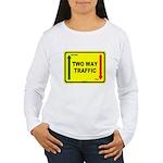 Two Way Traffic 3 Women's Long Sleeve T-Shirt