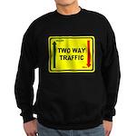 Two Way Traffic 3 Sweatshirt (dark)