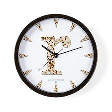 Tortoise Shell r Wall Clock