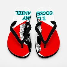 I Love My Cocker Spaniel Flip Flops