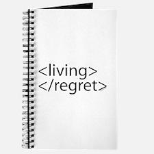 Begin Living End Regret HTML Journal