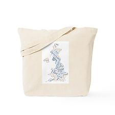 Persuasion Word Cloud Tote Bag