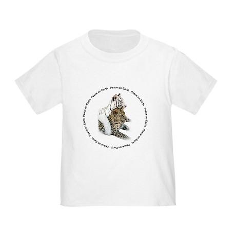 White Tiger & Leopard Toddler T-Shirt
