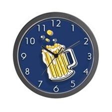 Mug of Beer Wall Clock