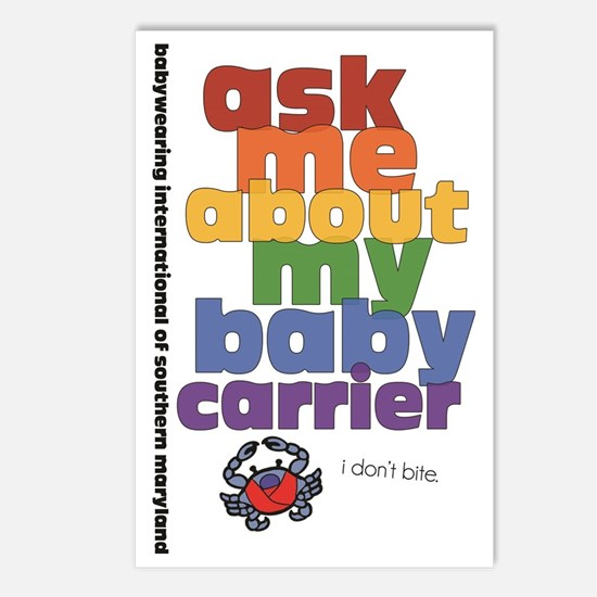ask me - I don't bite. Postcards (Package of 8)