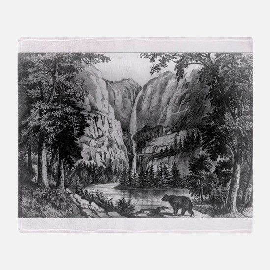 Bridal Veil Fall - Yo-semite Valley, California -