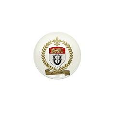 GAUDREAUX Family Crest Mini Button (10 pack)