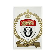 GAUDREAUX Family Crest Rectangle Magnet (100 pack)