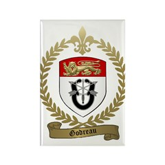 GODREAU Family Crest Rectangle Magnet (100 pack)
