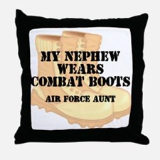 AF Aunt Nephew DCB Throw Pillow