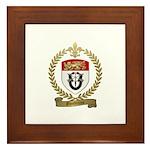 GAUDREAU Family Crest Framed Tile