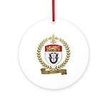 GAUDREAU Family Crest Ornament (Round)