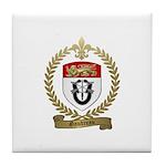 GAUDREAU Family Crest Tile Coaster