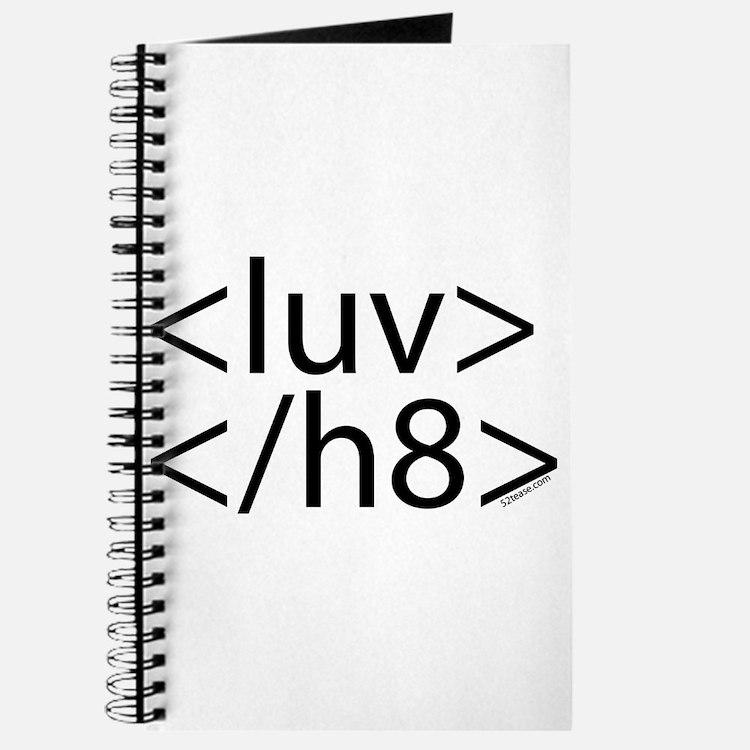 Begin Luv End H8 HTML Journal