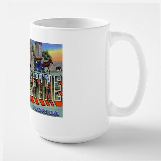 St. Augustine Florida Greetings Large Mug