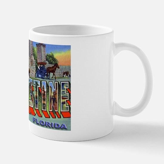 St. Augustine Florida Greetings Mug