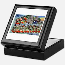 St. Augustine Florida Greetings Keepsake Box