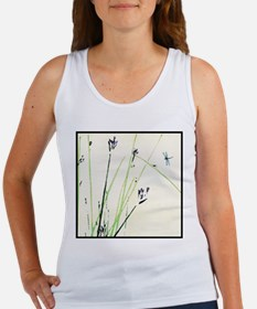 blue dragonfly Tank Top