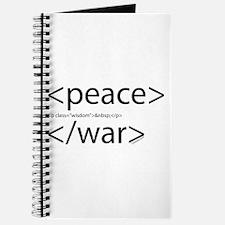 Begin Peace End War HTML Journal